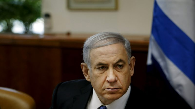 Israel's Prime Minister Benjamin Netanyahu chairs the weekly cabinet meeting in Jerusalem, Sunday, Nov. 30, 2014. (AP Photo/Ronen Zvulun, Pool)
