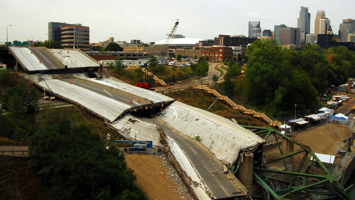 The State of America's Infrastructure 5 Years After the I-35W Bridge Collapse