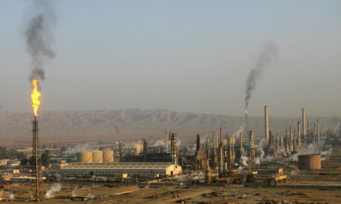 Baiji oil refinery