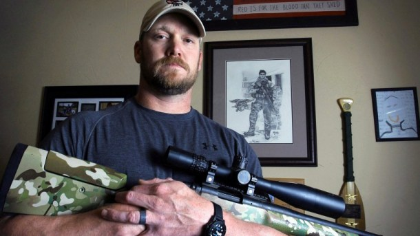 """""""American Sniper"""" author Chris Kyle poses for this 2012 file photo. Photo: Paul Moseley/AP"""