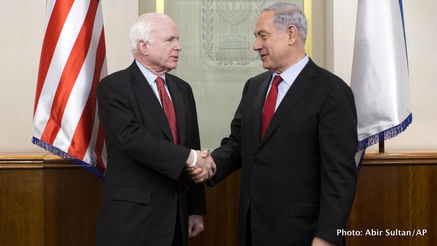 Benjamin Netanyahu, John McCain