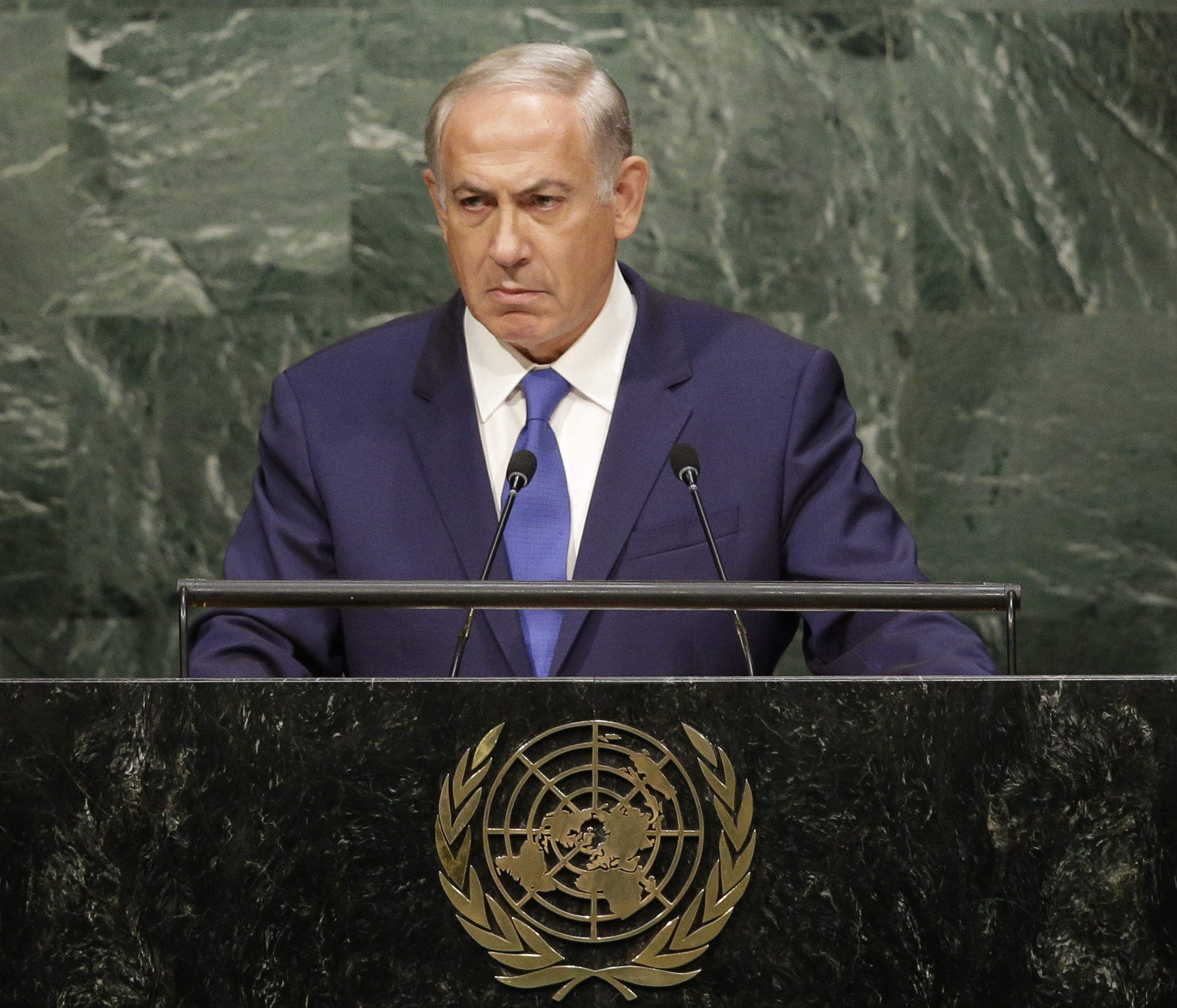 Image result for netanyahu onu 2016