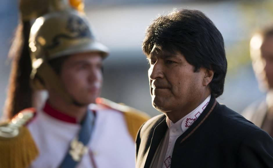 Bolivian President Evo Morales. Photo: AP Photo/Felipe Dana