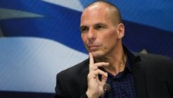 former finance minister of Greece and founder of DiEM25 (Democracy in Europe Movement 2025), Yanis Varoufakis,