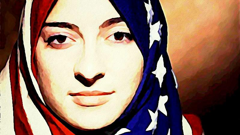 Hijab Muslim flag