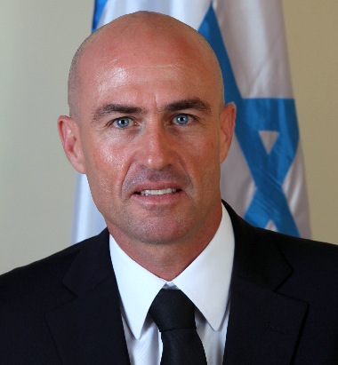 Israeli Judge Shamai Becker, accused of raping his daughter and temporarily removed from bench.