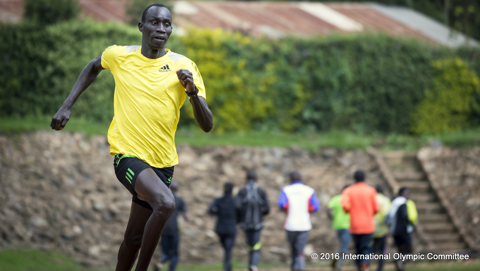 South Sudanese refugee James Nyang Chiengjiek has been selected together with nine fellow refugees to be part of the Refugee Olympic Team (ROT) at the Olympic Games Rio 2016, 15 years after fleeing his home country.