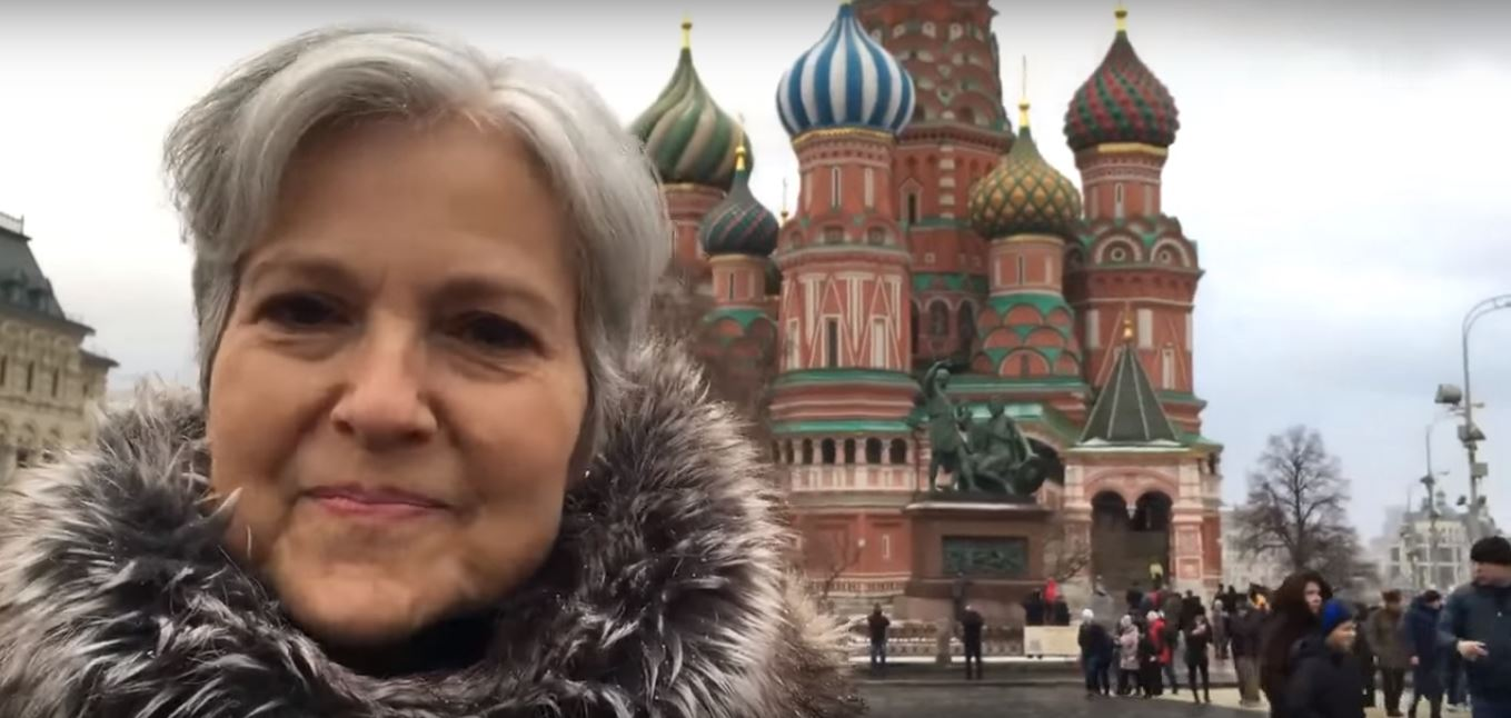 Image result for photos of jill stein in russia