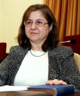 Former ELSTAT board member, Georganta Zoi a