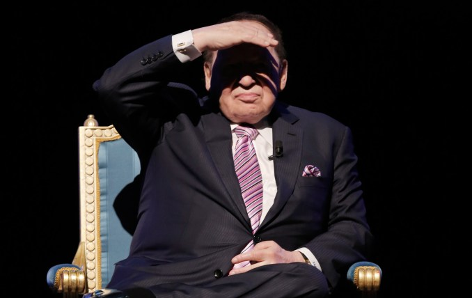 Sheldon Adelson Donor