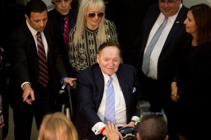 Sheldon Adelson Donald Trump