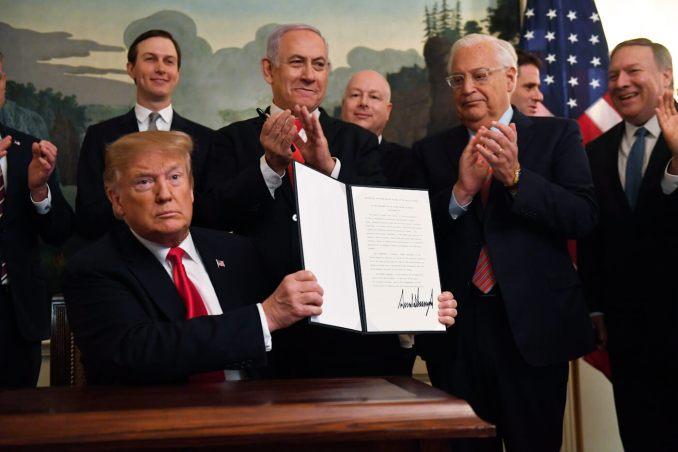 Donald Trump | Golan Heights