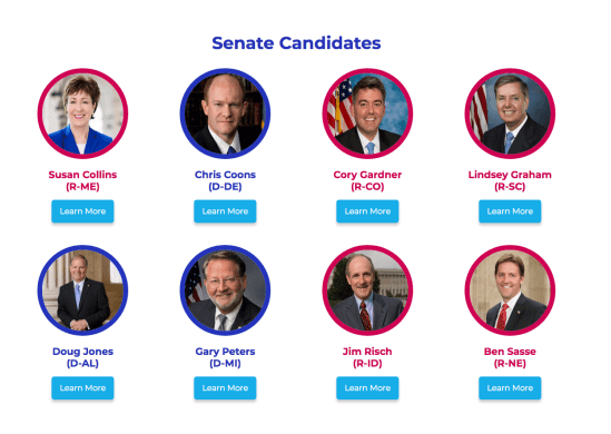 Israel Lobby supported candidates