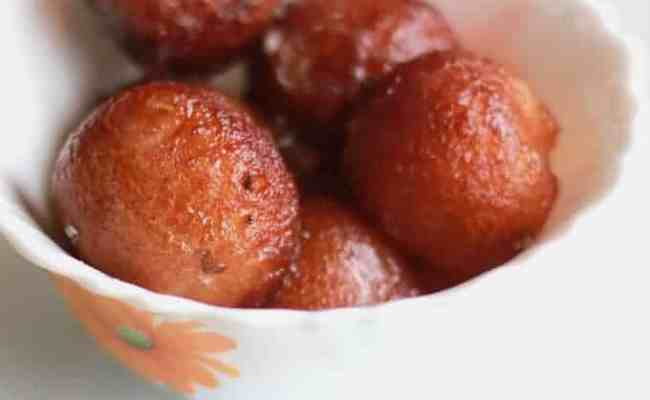 Easy Bread Gulab Jamun Recipe For Sweets Indian Dessert