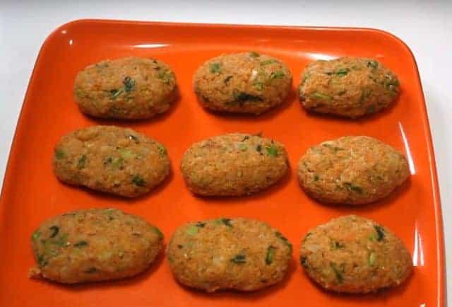 Potato vermicelli cutlets