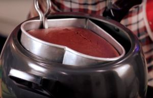 Red Velvet Cake In Pressure Cooker