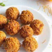 How To Make Paneer Vermicelli Balls Recipe