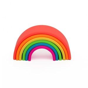 Dëna Liten Regnbue i silikon - Klare farger.