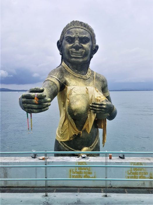 Statue of the Phra Aphai Mani