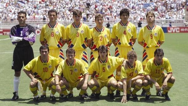 Generatia de Aur a fotbalului romanesc si marea aventura din SUA, din 1994