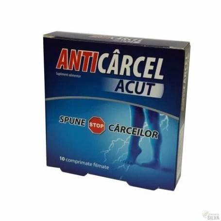 Anticarcel Acut 10 comprimate. Zdrovit. remediu natural pentru carcei