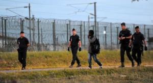 Calais barrières