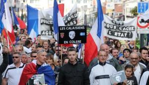 Calaisiens en colère