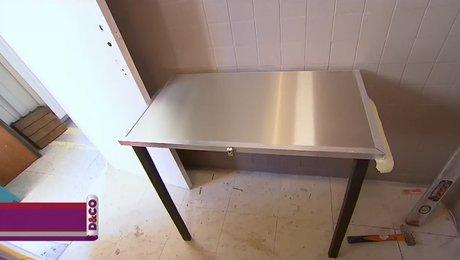 tables de cuisine pliantes