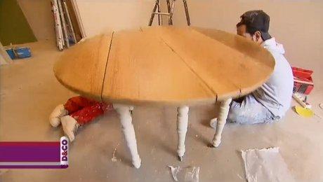 customiser une vieille table en bois