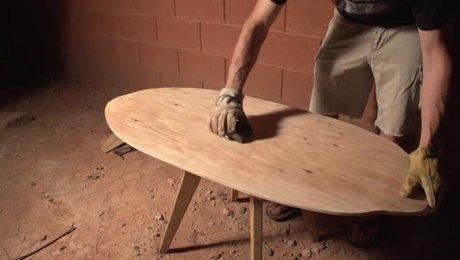 Comment Fabriquer Une Planche De Skimboard En Bois