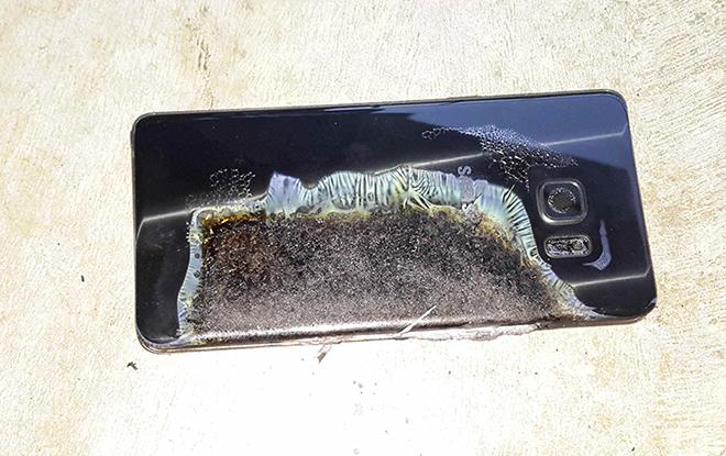 Un Samsung Galaxy Note 7 explose et provoque 1200 euros de dégâts dans un hôtel