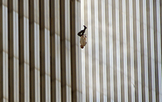 Les dessous de « The Falling Man », la photo la plus dramatique du 11 septembre