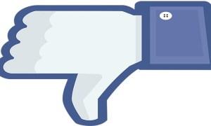 facebook je n'aime pas