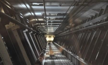 chute ascenseur madrid