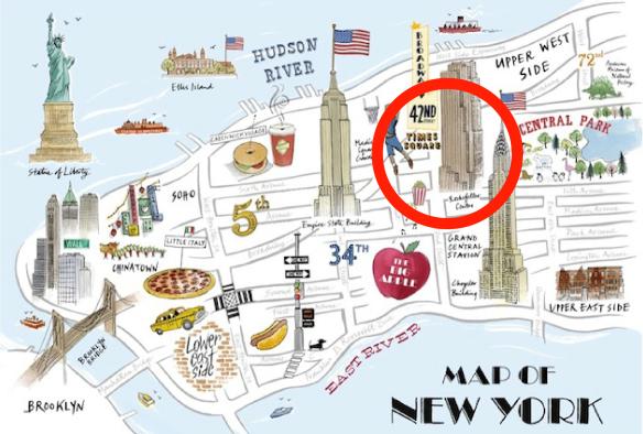 new york une voiture fauche des pi tons sur times square. Black Bedroom Furniture Sets. Home Design Ideas