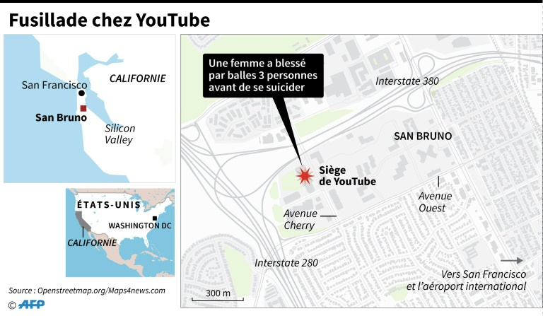 Fusillade chez You Tube