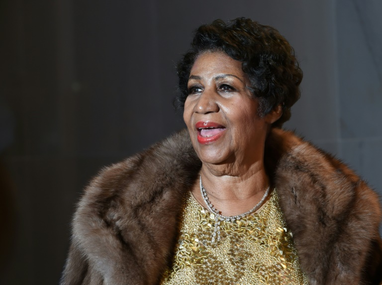 Photo archive de la chanteuse américaine Aretha Franklin le 7 décembre 2015 à Washington