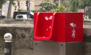 Paris : L'urinoir écologique installé sur l'Île Saint-Louis suscite les critiques des habitants