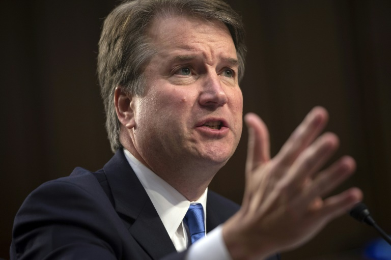 Brett Kavanaugh entendu par les sénateurs le 5 septembre 2018 à Washington