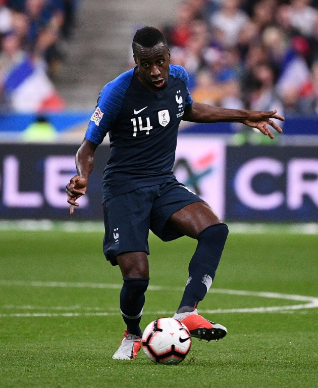 Blaise Matuidi contre l'Allemagne en Ligue des Nations, le 16 octobre 2018 au Stade de France à Saint-Denis