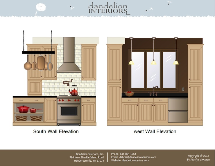 Kitchen Interior Elevation Understanding Architectural Drawings