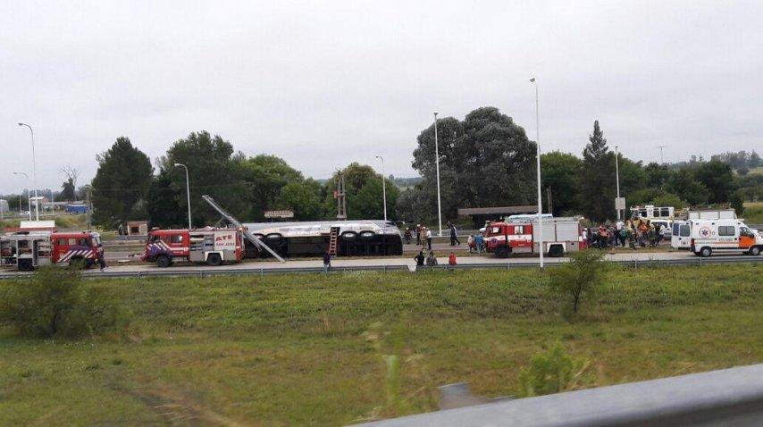 <i>El accidente ocurrió en la localidad de San José<br></i>