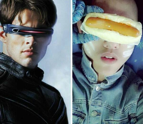cosplay comida ciclope