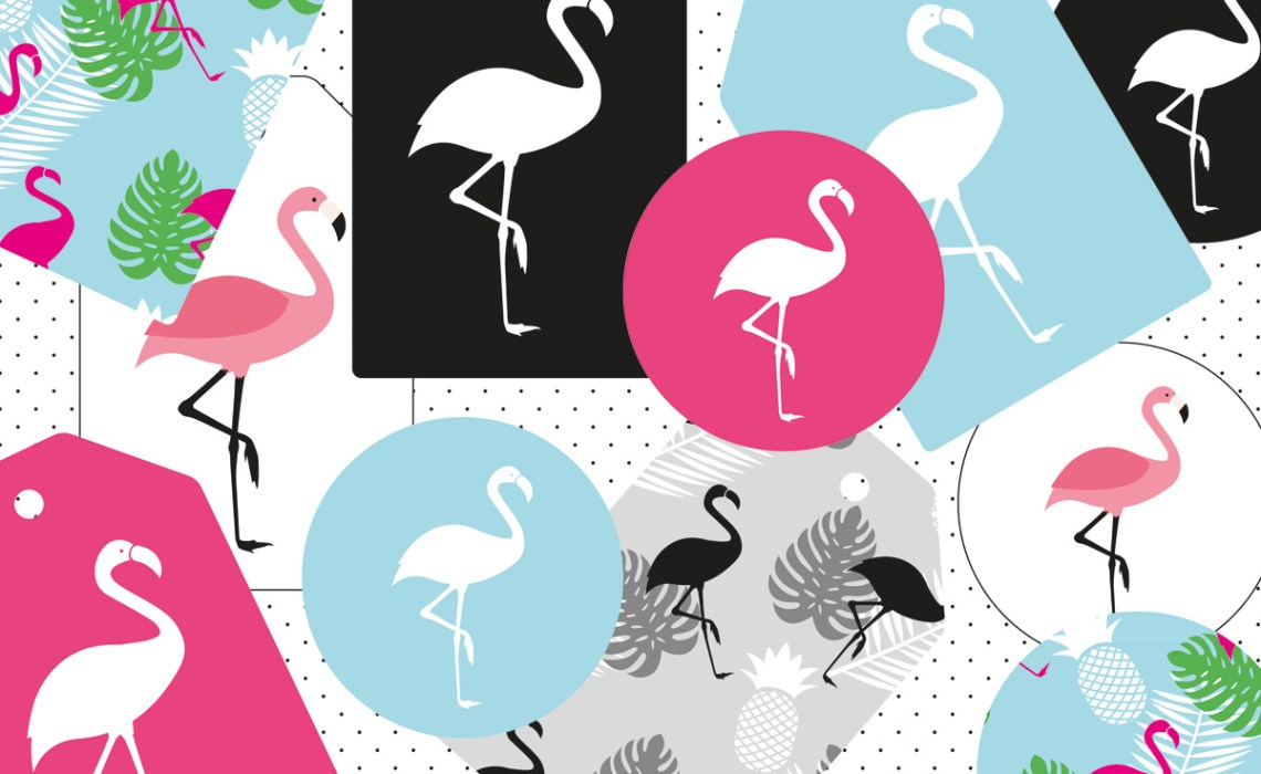 flamingo geschenkanh nger miomodo diy blog. Black Bedroom Furniture Sets. Home Design Ideas