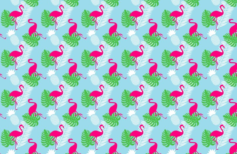 flamingo DIY
