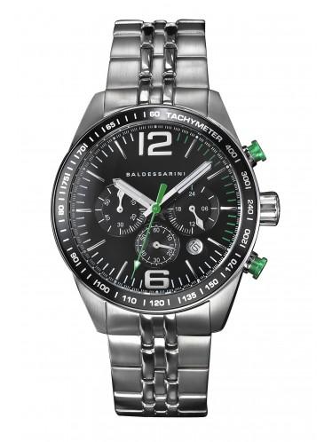 Baldessarini Y8052W2000 Armbanduhr mit schwarzem Ziffernblatt