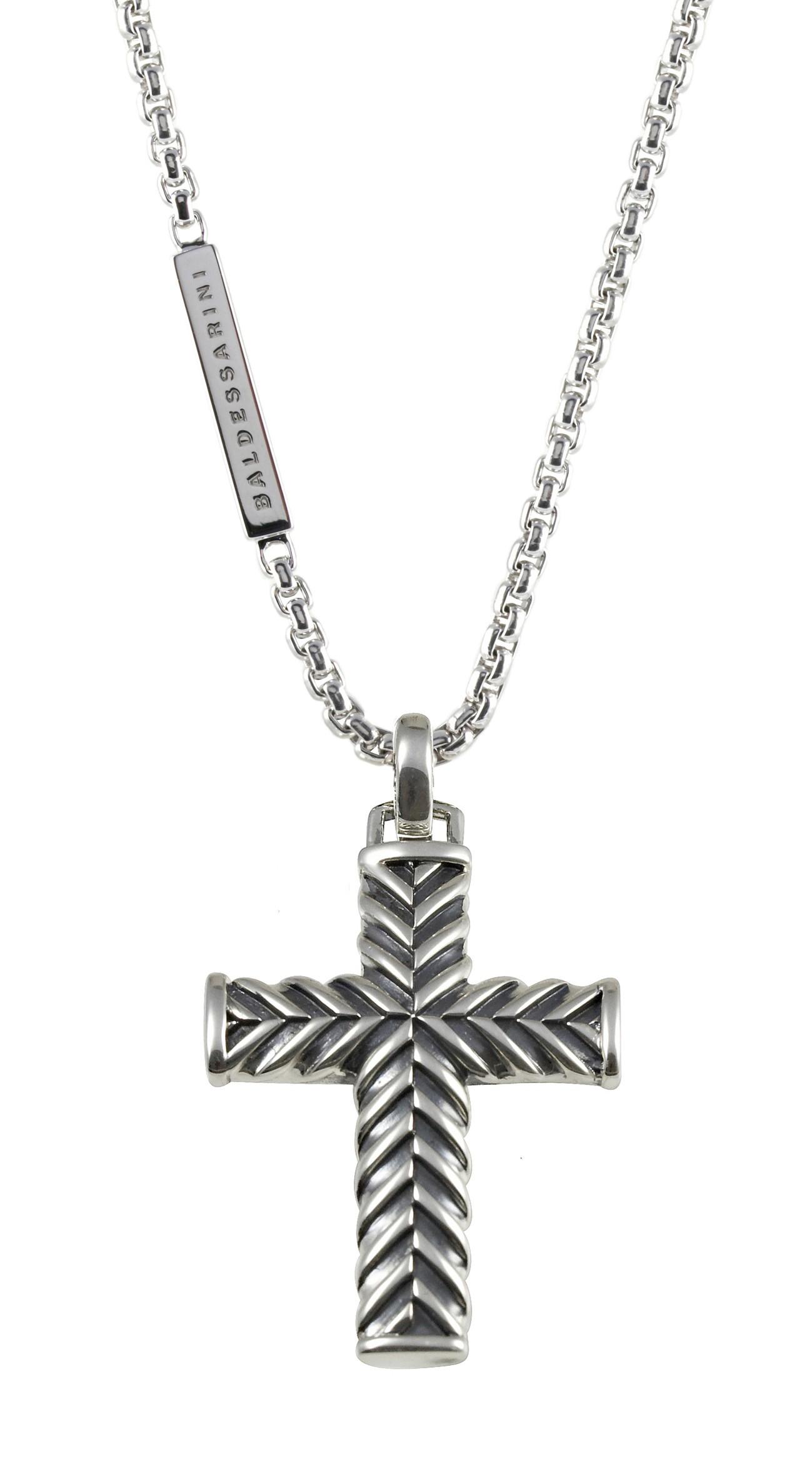 HerrenHalskette mit Kreuz von Baldessarini Y1045N900055
