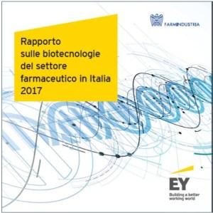 Cover Rapporto delle biotecnologie nel farmaco 2017