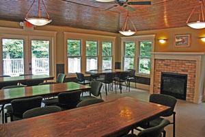 kitchen stove gas corner hutch weaver house at pine bend - ottawa county, michigan