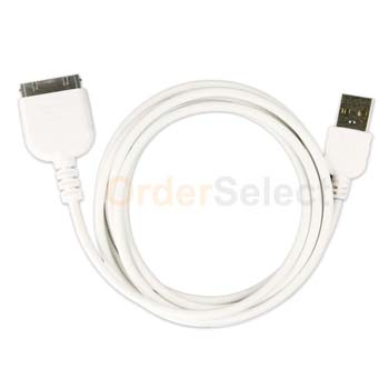 USB Battery Data Sync Charger Cable for Apple iPod Nano